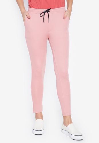 Penshoppe pink Track Pants 7245BAA24B29AFGS_1