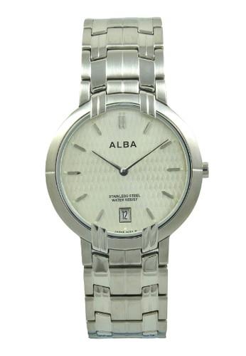 Alba silver ALBA Jam Tangan Pria - Silver Ivory - Stainless Steel - AVKA85 AL383AC0V4YMID_1