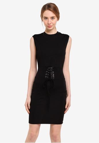 Bardot black Mila Dress BA332AA0ST90MY_1
