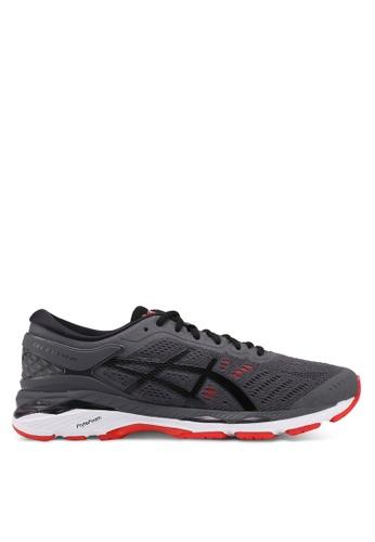 Asics grey Gel-Kayano 24 Shoes AS989SH0SVRJMY_1