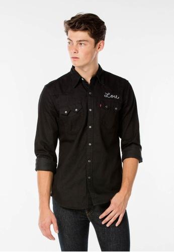 Levi's black Levi's Sawtooth Western Shirt LE815AA81PUOMY_1