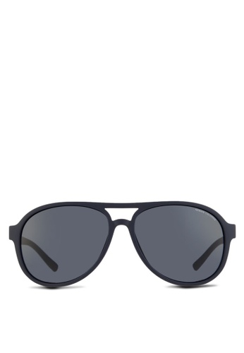 Armani Exchange blue Forever Young AX4055SF Sunglasses AR162GL46QNHMY_1