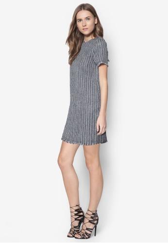 條紋直筒連身裙, 服飾,esprit分店 服飾