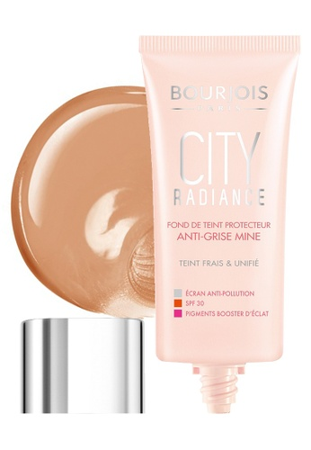 Bourjois City Radiance Foundation #06 Golden Sun BO885BE46NCNSG_1