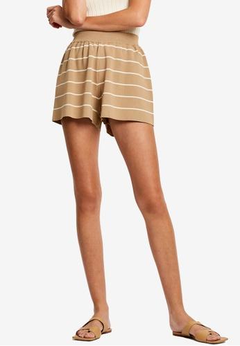 St MRLO beige Monterey Shorts 6853EAA7A2A2C7GS_1