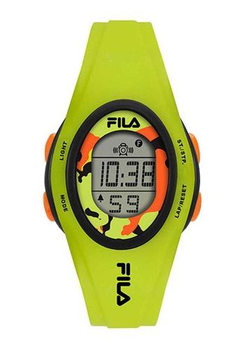 FILA Watches green Fila Digital Green Silicone Watch 1AF09AC21E7FE6GS_1