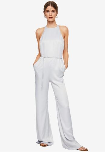 Mango silver Soft Jumpsuit C5DEAAAB4C3DBCGS_1