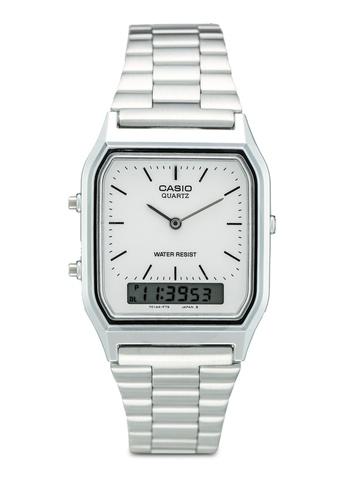 Casio silver Casio AQ-230A-7DHDF ADBD2ACFDFEDB3GS_1
