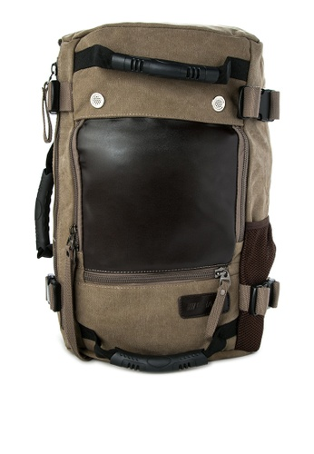 Chase Fashion brown Don Duffle Backpack CH547AC30EMFPH_1