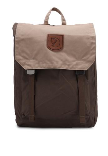 Fjallraven Kanken brown Khaki-Sand Foldsack No.1 Backpack FJ382AC0RWKTMY_1