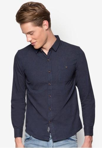 素色長袖襯衫,esprit 香港 服飾, 襯衫