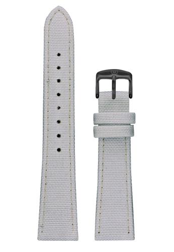 Undone white Undone White Cordura Strap 20mm (Black Buckle) UN712AC2VEJKHK_1