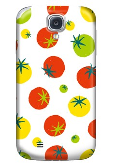 Tomatoes Glossy Hard Case for Samsung Galaxy S4