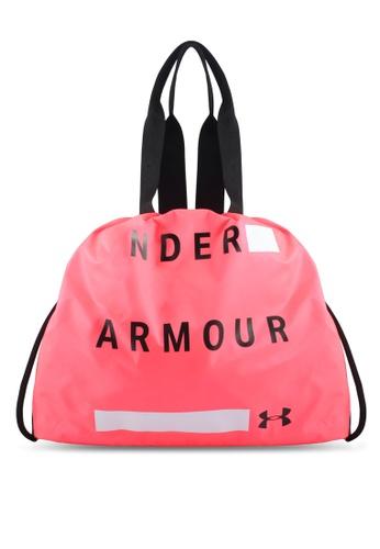 Under Armour pink Ua Favorite Graphic Tote Bag UN337AC0SU6EMY_1