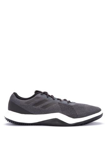 adidas Performance CRAZYTRAIN LT M - Sports shoes - grey five/core black/grey two 1LuHZWkYh