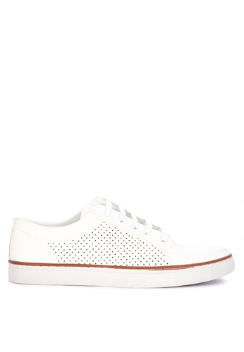 Mendrez white Matty Sneakers 46A5BSH72BDE4FGS_1