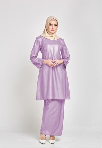 MOTHER & CHILD purple Permaisuri Kurung Riau Modern A286EAAB1FE50DGS_1