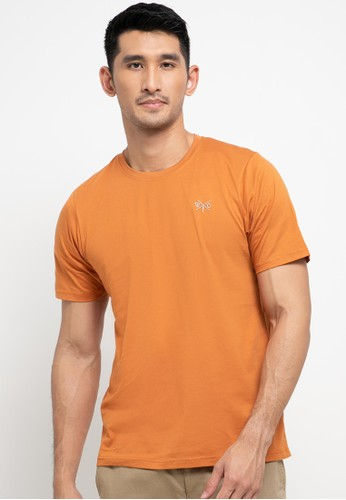 Watchout! Casual orange Reading Must Have Crew Neck Tee 135D9AA31B48EDGS_1