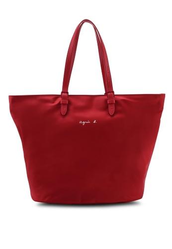 5be2eae157d Buy Agnes B Trapezium Tote Bag Online on ZALORA Singapore