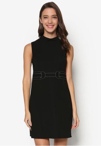 高領直筒洋裝、 服飾、 服飾DorothyPerkins高領直筒洋裝最新折價