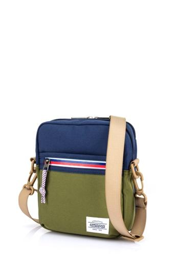 American Tourister blue American Tourister Kris Vertical Bag B18ACAC610852BGS_1
