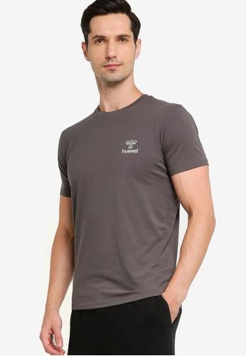 Hummel grey Hummel Sigge Short Sleeve T-Shirt 9E974AAB0E7F5FGS_1