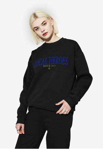 Local Heroes black LH 2013 Black Sweatshirt 22AFBAA35510D6GS_1
