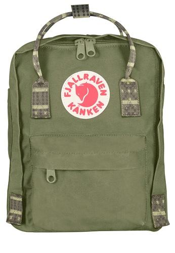 Fjallraven Kanken green Green-Folk Pattern Kanken Mini Backpack 088F2AC1177C3CGS_1