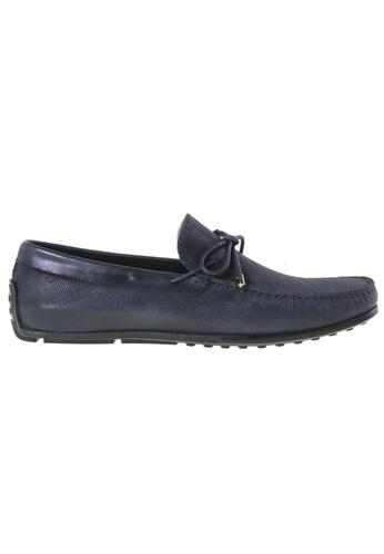 Tomaz blue Tomaz C282 Bow Loafers (Navy) TO717SH22QZPMY_1