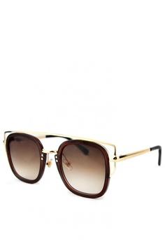 d8a03ce6fd1 Sunglass Solutions brown Ruth Sunglasses for Women SU074GL0K9PKPH 1