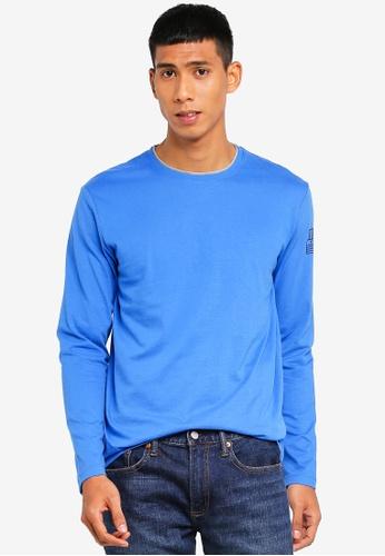 87ae812a9a Buy ESPRIT Long Sleeve T-Shirt Online on ZALORA Singapore