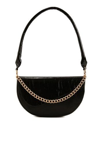 KOTON black PU Handbag F25CFACAD8C2FEGS_1