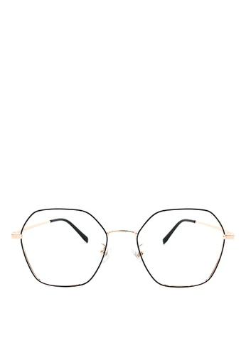 Kaca-kaca black and gold Kaca Kaca Aspen Black Gold Eyeglasses 428CDGLBC0552DGS_1