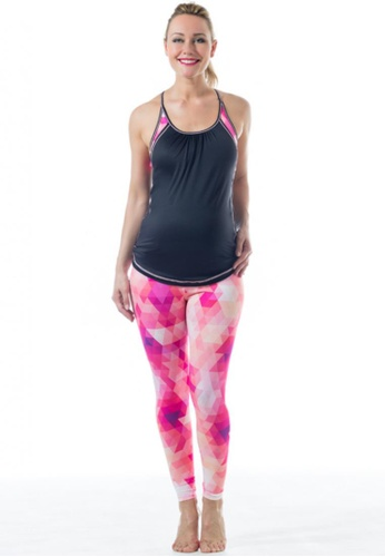 Bove by Spring Maternity pink Kate Fitness Pants LB2102 SP010AA89KLISG_1