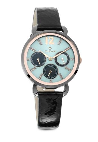 Titan x Naelofar black Titan x Naelofar, Titan Purple Watch 95013KL01 TI758AC0SIL4MY_1