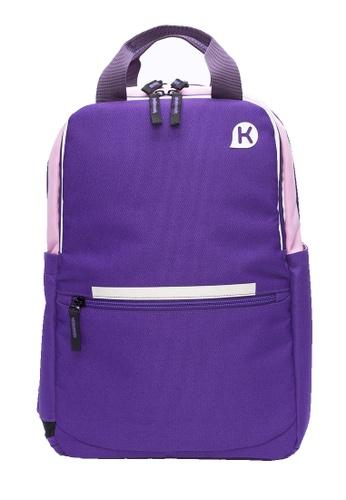 Kags purple KAGS Chester Series 2.0 Ergonomic School Backpack - Purple 2C64BKCB1F5DD6GS_1