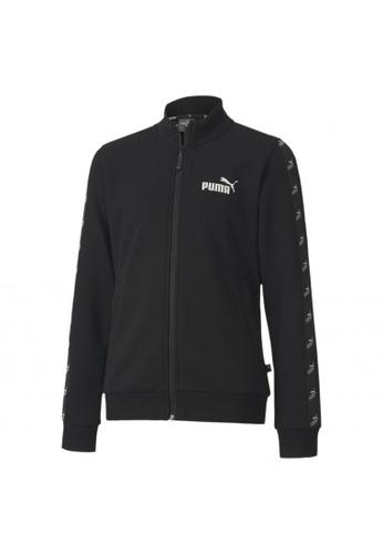 PUMA black Amplified Full Zip Youth Track Jacket AFC7BKAFC915AFGS_1