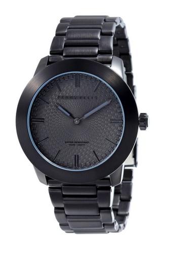 PERRY ELLIS black Perry Ellis Slim Line Unisex 42mm Quartz Stainless Steel Watch 07009-02 9661AACDCA4137GS_1