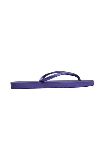 Dupe purple Dupé CHARME Purple Flip Flops DU634SH76LXZHK_1