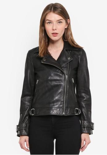 TOPSHOP black Lizzie Biker ECAC0AAAD5CBE0GS_1