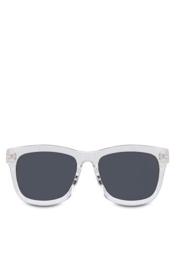 方形粗zalora 台灣門市框太陽眼鏡, 飾品配件, 長框