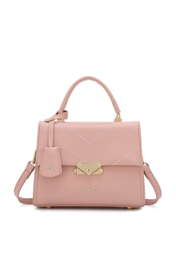 Wild Channel pink Top Handle Bag 98B0FAC4ED3955GS_1