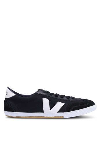 Veja black Volley Canvas Sneakers AF732SH3BA8692GS_1