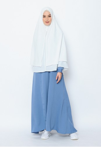 Allev blue Omaira Dress - Caroline Blue 34324AA3C9F0E8GS_1