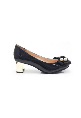 Elisa Litz black Dycel Low-Heels (Blue) 67ECBSHBC3E0CAGS_1