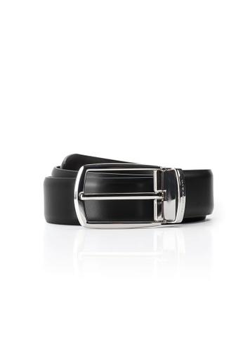 Maverick & Co. black Maverick & Co. Sirius Calf Leather Belt(Premium Black) 03B35AC4521219GS_1
