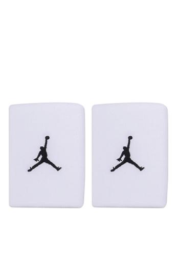 Nike white Jordan Jumpman Wristbands NI126AC0RW0MMY_1