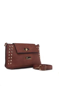 5d8a94ffd8e 63% OFF AR by Alfio Raldo Simple Crossbody Sling Bag RM 156.00 NOW RM 58.00  Sizes One Size