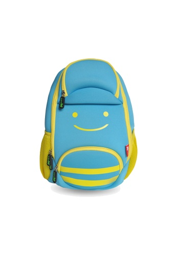 Nohoo blue Nohoo Kids Backpack Smiley Bee (Blue) 2C396KCBA1CC2BGS_1