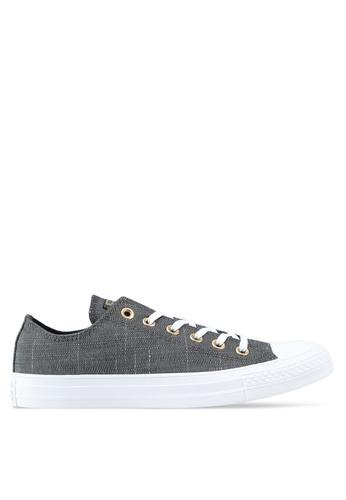 38e1c92e47e Converse black Chuck Taylor All Star Washed Linen Ox Sneakers  E218DSH682ACBAGS 1